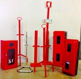 Caixas em PVC, metalicas/ tripes/ suporte base